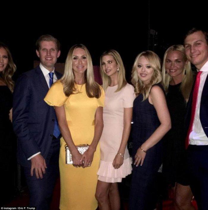 Οικογένεια Τραμπ vs οικογένειας Κλίντον: Ποια κέρδισε τη μάχη της εξέδρας; - εικόνα 12