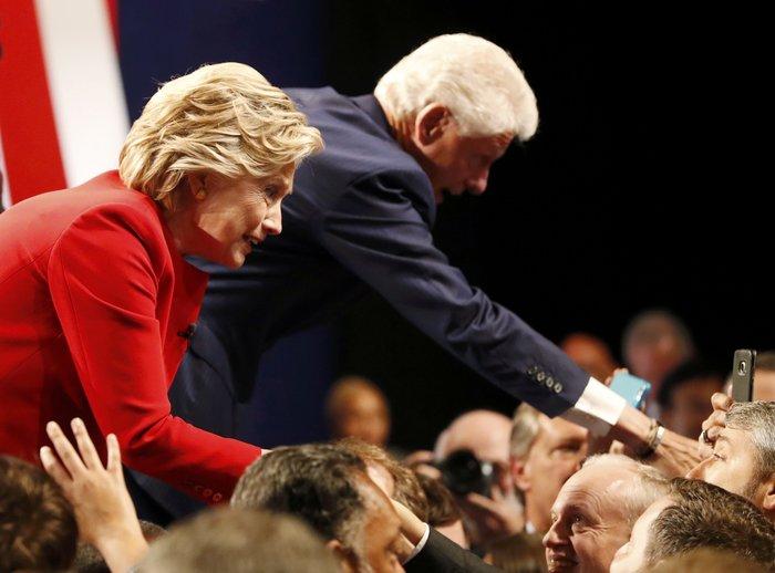 Οικογένεια Τραμπ vs οικογένειας Κλίντον: Ποια κέρδισε τη μάχη της εξέδρας; - εικόνα 17