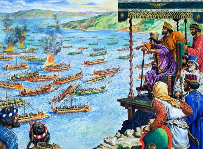 Σαν σήμερα 2.496 χρόνια πριν, ο δυτικός πολιτισμός ξεκίνησε στη Σαλαμίνα - εικόνα 4