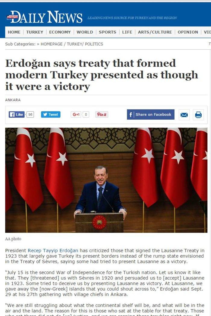 Η Τουρκία αμφισβητεί ελληνικά δικαιώματα στο μισό Αιγαίο