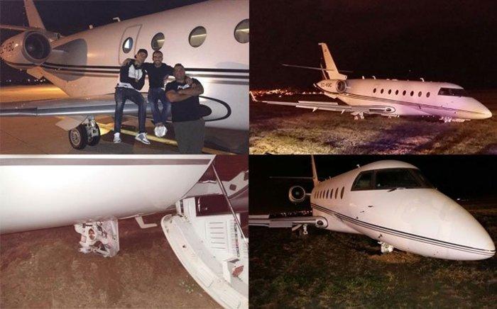 Ατύχημα με το αεροπλάνο του Ρονάλντο