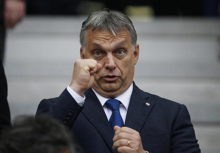 Ο ούγγρος πρωθυπουργός Β. Όρμπαν