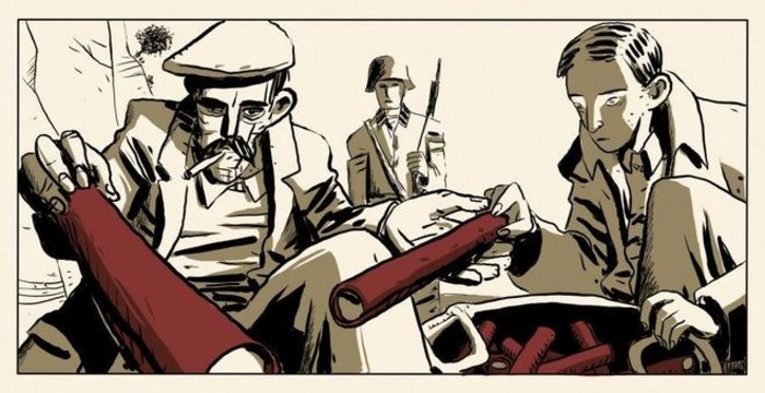 Τα κόμικς συναντούν τη δεκαετία του '40 - εικόνα 2