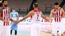 """Κύπελλο Μπάσκετ: Στους """"4"""" ο Ολυμπιακός, περίπατος 99-48 με Κολοσσό"""