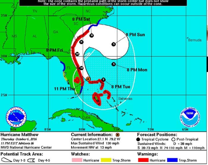 NASA: Η θέα από το διάστημα, ενώ ο τυφώνας Μάθιου σφυροκοπεί τις Μπαχάμες - εικόνα 4