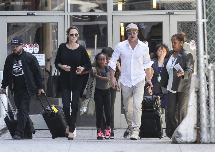 Ο Μπραντ Πιτ συνάντησε τα παιδιά του για πρώτη φορά μετά τον χωρισμό
