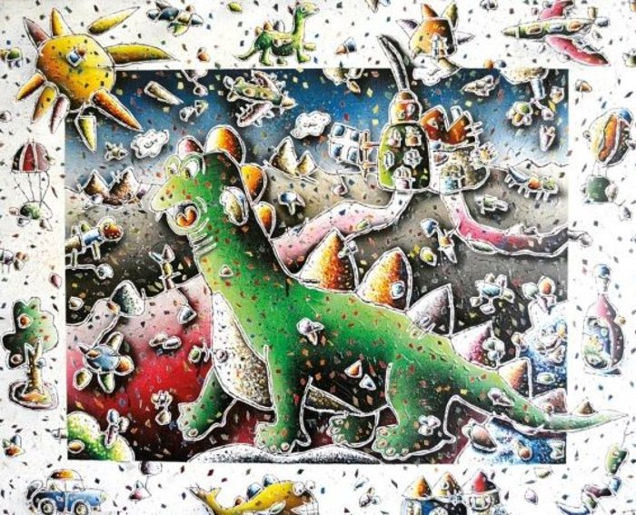 Ο φαντασιακός κόσμος του Χρήστου Πετρίδη 1958-2013