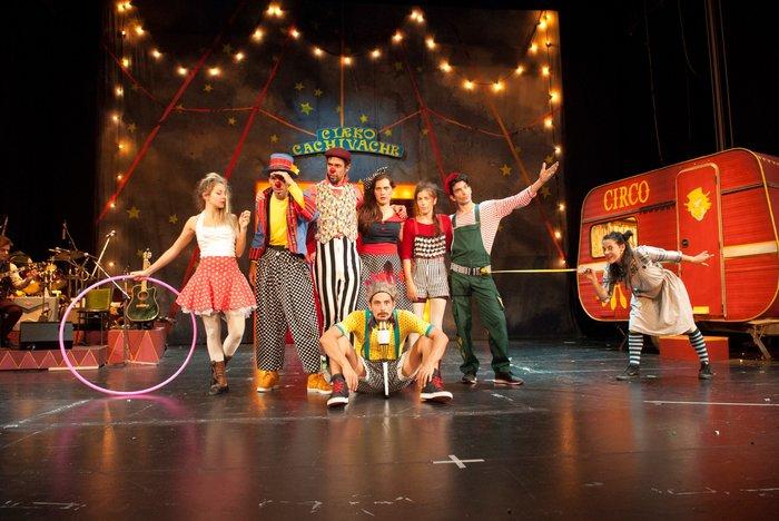Ένα τσίρκο στήνεται στη σκηνή του Παλλάς