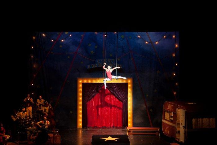 Ένα τσίρκο στήνεται στη σκηνή του Παλλάς - εικόνα 4