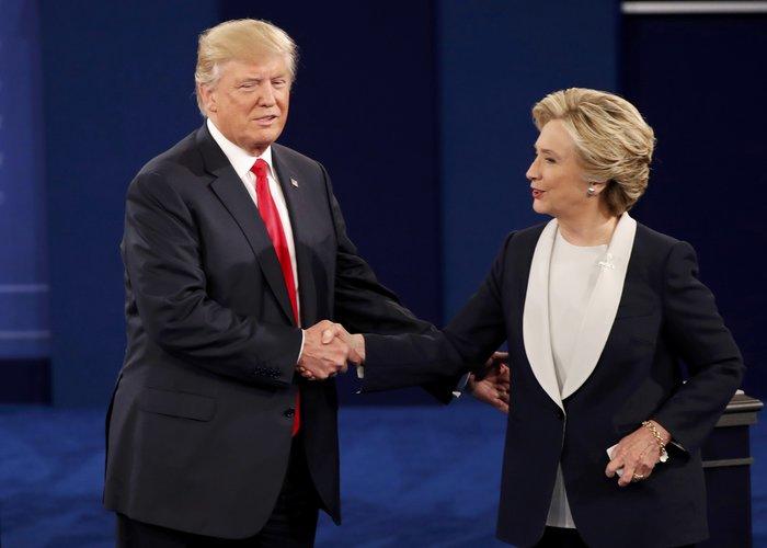 Νίκη Χίλαρι με 57% στο δεύτερο debate δίνει το CNN