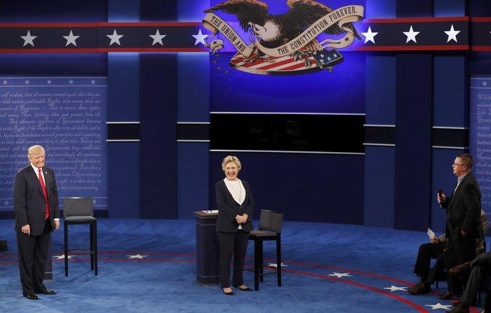 Νίκη Χίλαρι με 57% στο δεύτερο debate δίνει το CNN - εικόνα 2