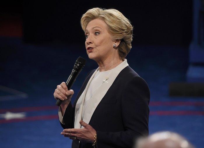 Νίκη Χίλαρι με 57% στο δεύτερο debate δίνει το CNN - εικόνα 3