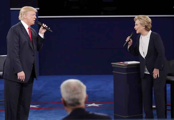 Νίκη Χίλαρι με 57% στο δεύτερο debate δίνει το CNN - εικόνα 5