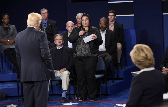 Νίκη Χίλαρι με 57% στο δεύτερο debate δίνει το CNN - εικόνα 6
