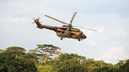 Όταν γεννιέται μια ζωή μέσα σε ελικόπτερο Super Puma