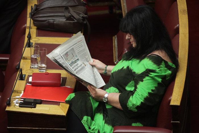 Ολα τα κρυφά στιγμιότυπα από τη συζήτηση στη Βουλή - εικόνα 5