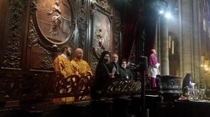 Ορθόδοξος εσπερινός στην Παναγία των Παρισίων - δείτε φωτογραφίες- - εικόνα 2