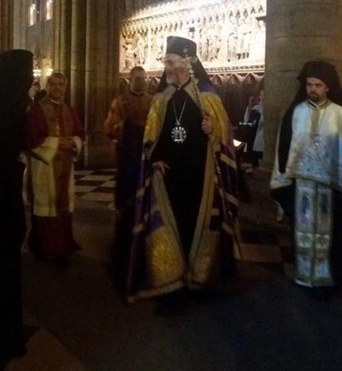 Ορθόδοξος εσπερινός στην Παναγία των Παρισίων - δείτε φωτογραφίες- - εικόνα 5