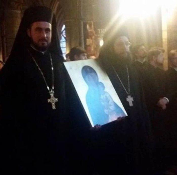 Ορθόδοξος εσπερινός στην Παναγία των Παρισίων - δείτε φωτογραφίες- - εικόνα 6