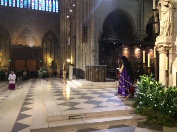 Ορθόδοξος εσπερινός στην Παναγία των Παρισίων - δείτε φωτογραφίες- - εικόνα 8