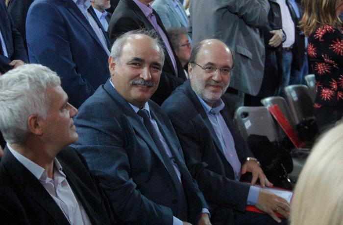 Ο υφυπουργός Γεωργίας Μάρκος Μπόλαρης.
