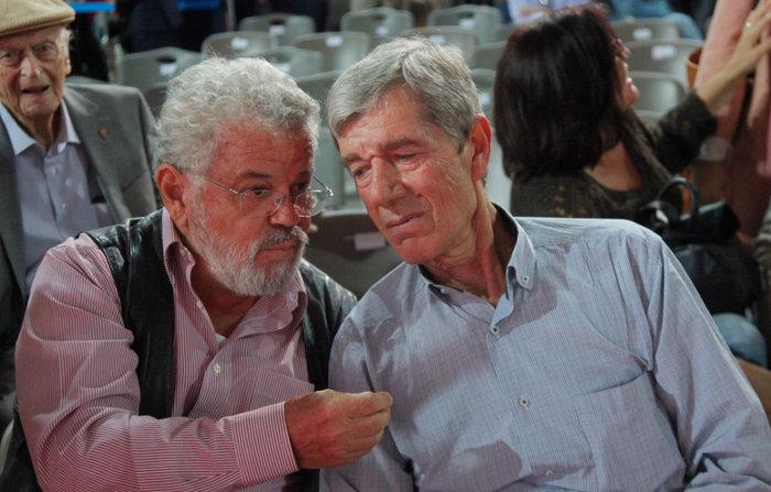 Ο Αντώνης Κοτσακάς με τον Νίκο Μανιό.