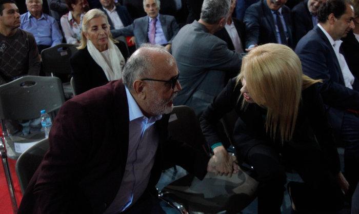 Ο υπουργός Εσωτερικών Παναγιώτης Κουρουμπλής με την Θ. Τζάκρη.