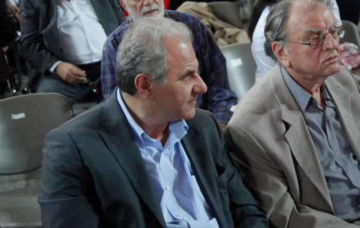 Ο εκδότης και υποψήφιος βουλευτής Ηλίας Λιβάνης.