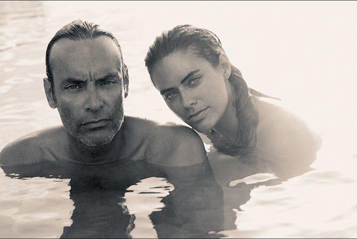 H Alylson de Borges με τον πατέρα της Αντονι Ντελόν
