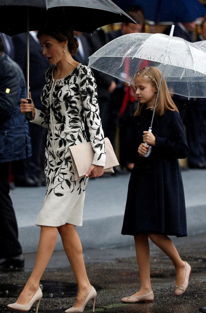 Οι κόρες της Λετίσια έχουν κληρονομήσει το στιλ της μαμάς τους - εικόνα 2