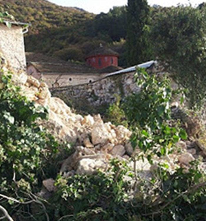 Ζημιές σε μοναστήρι του 11ου αιώνα από τον σεισμό στα Ιωάννινα - εικόνα 6