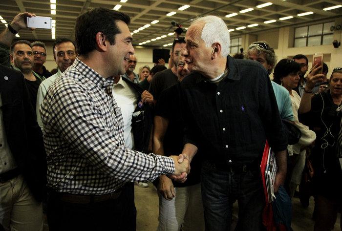 Με ποσοστό «οικουμενικό» πάνω από 93% επανεξελέγη ο Τσίπρας - εικόνα 3