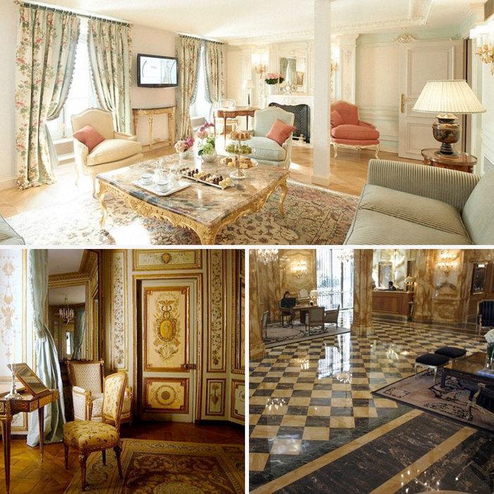 Το ξενοδοχείο Crillon στο Παρίσι