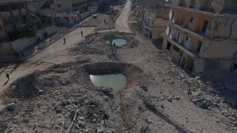 Οκτάωρη κατάπαυση του πυρός στο Χαλέπι ανακοίνωσε η Ρωσία