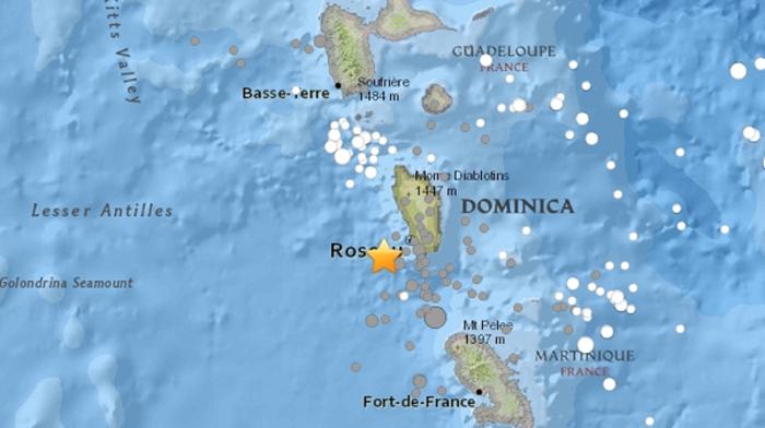 Ισχυρός σεισμός 5,8 Ρίχτερ στις Μικρές Αντίλλες στην Καραϊβική