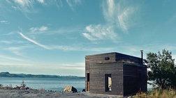 Ένα μικρό, γαλήνιο σπίτι στη Νορβηγία