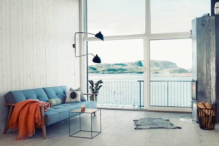Ένα μικρό, γαλήνιο σπίτι στη Νορβηγία - εικόνα 4