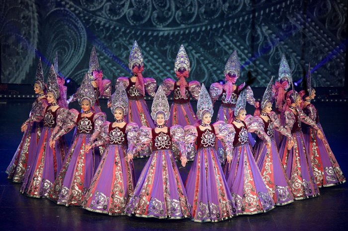Χοροθέατρο Μόσχας Γκζελ: Η ιστορία των λαών της Ρωσίας στο Μέγαρο