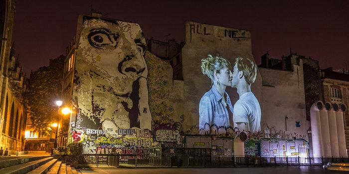 Εκατό φιλιά στους τοίχους του Παρισιού - εικόνα 4