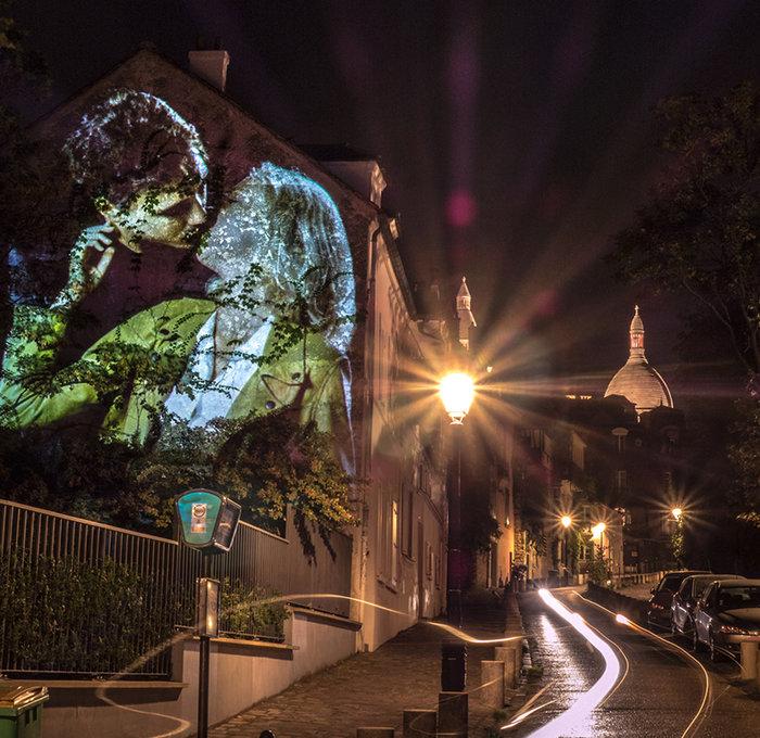 Εκατό φιλιά στους τοίχους του Παρισιού - εικόνα 3