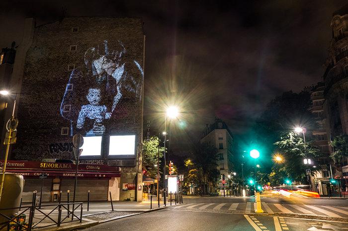 Εκατό φιλιά στους τοίχους του Παρισιού - εικόνα 2