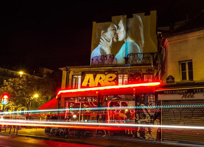 Εκατό φιλιά στους τοίχους του Παρισιού