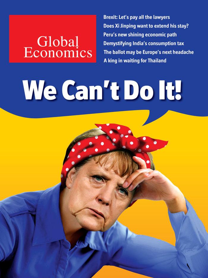 Γιατί το Bloomberg εμφανίζει τη Μέρκελ αδύναμη με φακιόλι