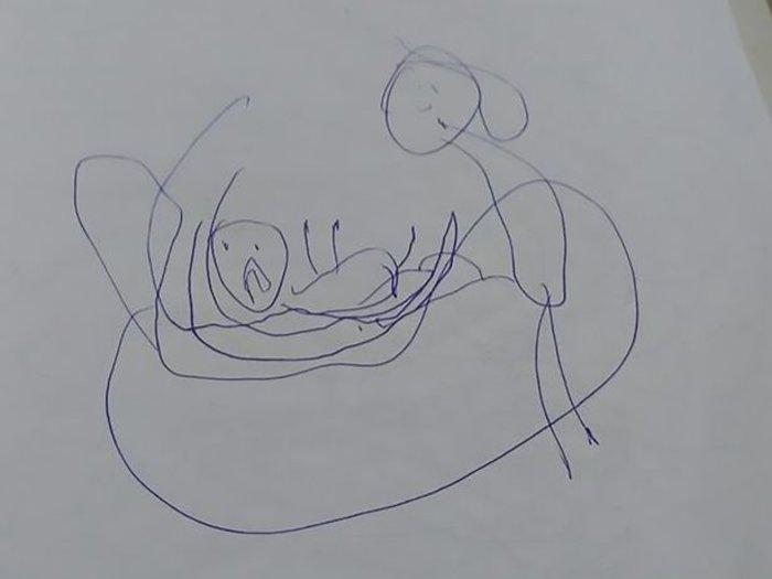 Σκίτσο-γροθιά: 5χρονη ζωγράφιζε τον βιασμό της από ιερέα