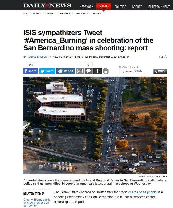 Φανατικοί μουσουλμάνοι οι δράστες του μακελειού στην Καλιφόρνια - εικόνα 2