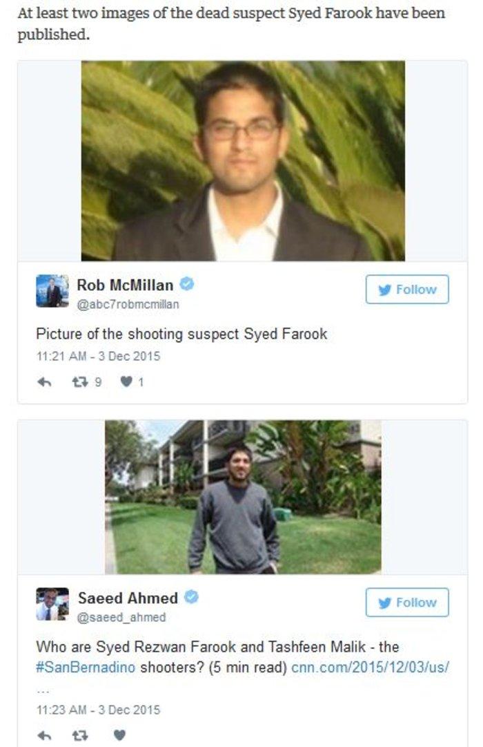 Φανατικοί μουσουλμάνοι οι δράστες του μακελειού στην Καλιφόρνια - εικόνα 5
