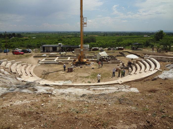 Αρχαίο Θέατρο Μίεζας
