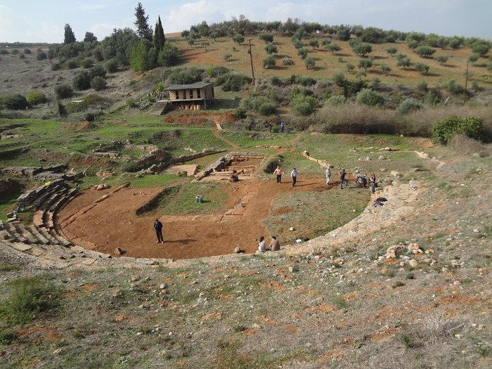 Αρχαίο θέατρο Καβιρείου Θήβας