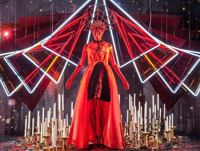 Λονδίνο  & Νέα Υόρκη: Οι μαγικές καλλιτεχνικές βιτρίνες των Χριστουγέννων - εικόνα 2
