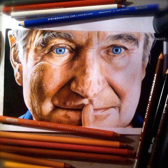 Ταλαντούχος 18χρονος ζωγραφίζει σταρ του Χόλιγουντ με απίστευτη ακρίβεια!